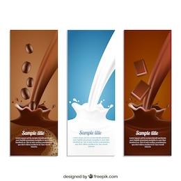Café, lait et chocolat