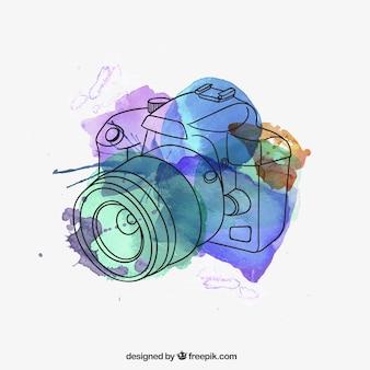 caméra Aquarelle