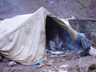Camp, la cuisine