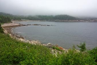 Cap-Breton brouillard hdr