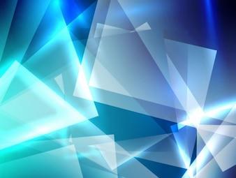 Carrés de verre de fond de conception transparente