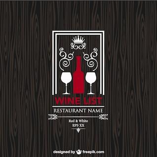 Carte des vins conception libre