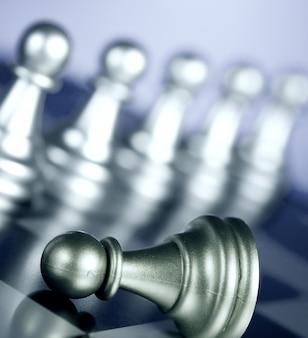 Casino verre roi reine d'échecs