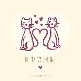 Chats de Valentine