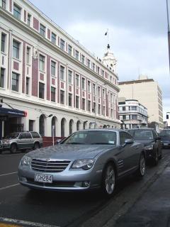 Chrysler a plu trempés, badge