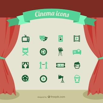 Icônes du cinéma mis en