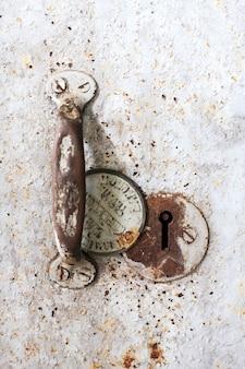 Clé de sécurité de l'acier vintage