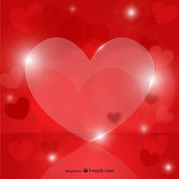 Coeurs en cristal