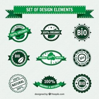 Collecte des badges organiques