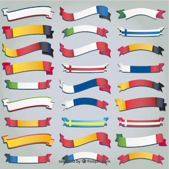Collection drapeaux du monde