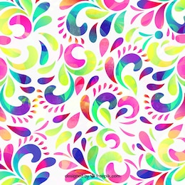 Colorful background dans le style abstrait