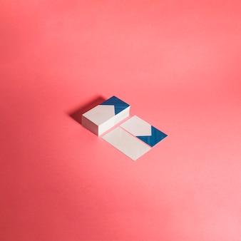 Concept de maquette de cartes de visite