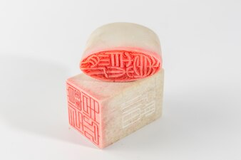 Concepts vieux symbole cristal fond Chine