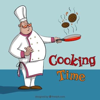 Cooking illustration de temps