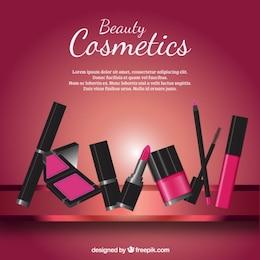 cosmétiques de beauté