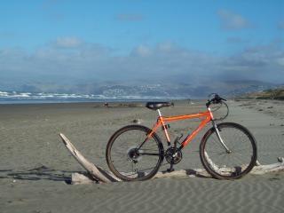 Coureur du monde - yak montagne, sable