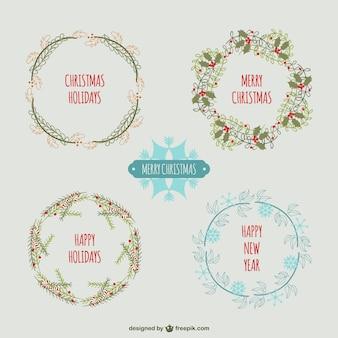 Couronnes de Noël Vintage