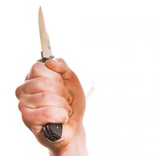 Couteau isolé