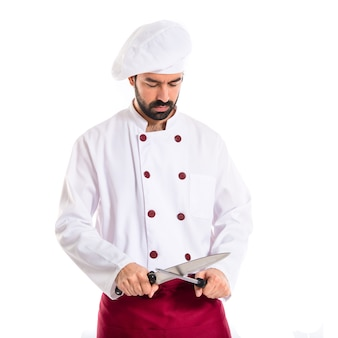 Couteaux de cuisine t l charger des vecteurs gratuitement - Couteau de chef cuisinier ...
