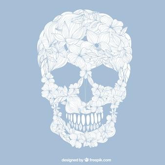 Crâne Floral