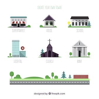 Créer votre propre ville