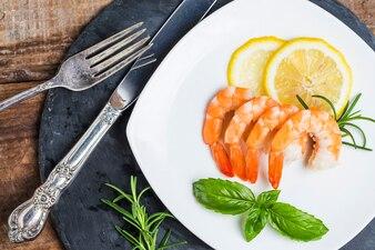 Crevettes prêt à manger