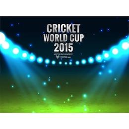 Cricket coupe du monde de fond