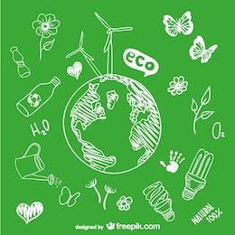 Croquis dessin goobe écologie