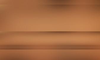 Dégradé brun abstraite bien utilisé comme arrière-plan pour l'affichage du produit.
