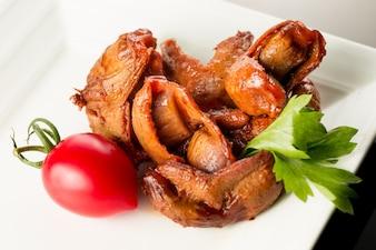 Délicieux poulet asiatique