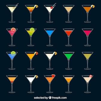 Des cocktails colorés