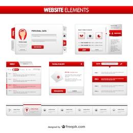 Des éléments du site emballer
