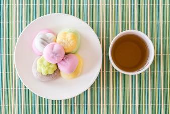Dessert coloré Mochi