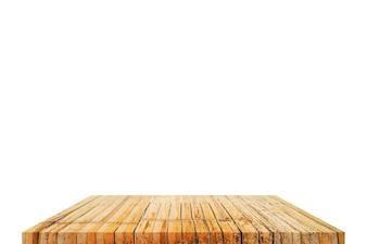 Dessus de table sur isolé