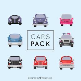 Différents types de voitures vecteur