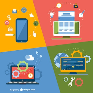 Dispositifs technologiques de demande en ligne