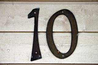 Dix, zéro