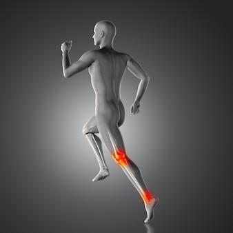 Douleur et Achille genou talon