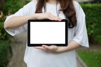 Écran de tablette