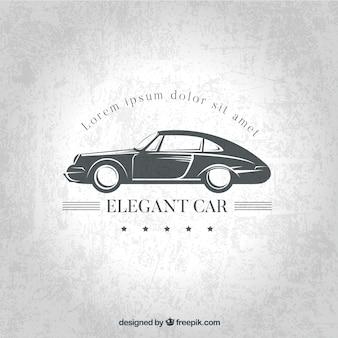 Concept de voiture de l'élégance