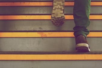 étapes jaunes