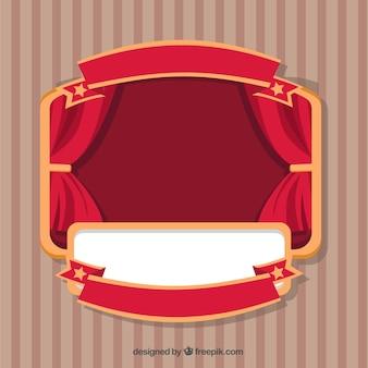 étiquette de Théâtre