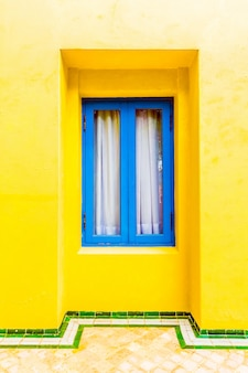 Extérieur moroccan musulman bleu ville