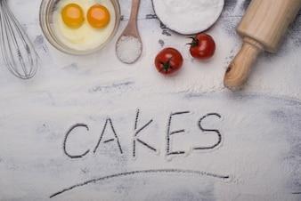 Faire un gâteau