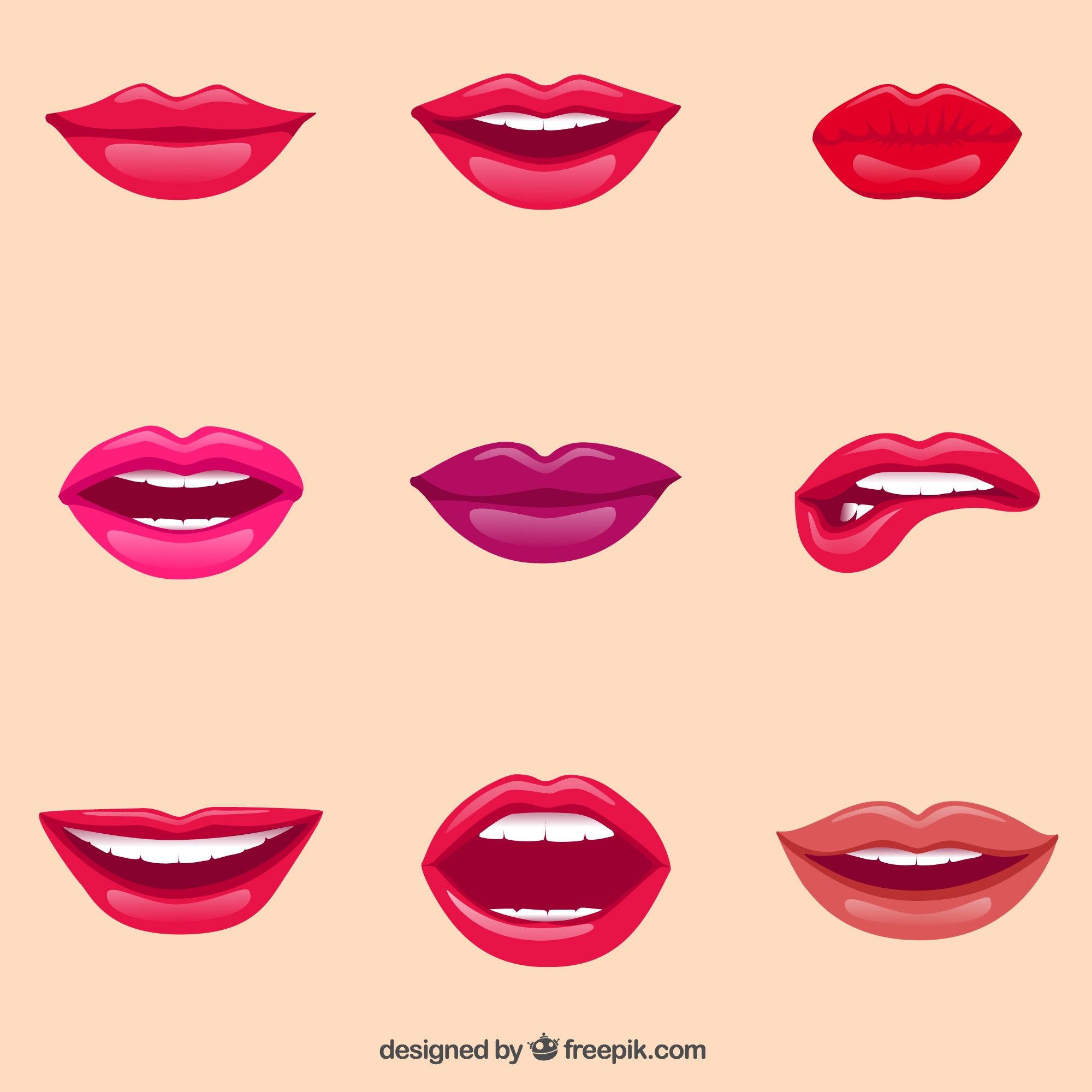 Female lips