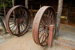 fer frontière hollandaise Wagon Wheel