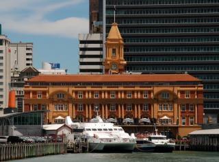 Ferry Building auckland