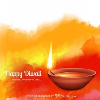 Festival indien avec des flammes