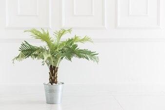 Feu vert vase de bureau de salle de bain