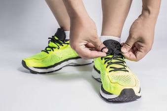 Fitness adultes laçage étroit shaker